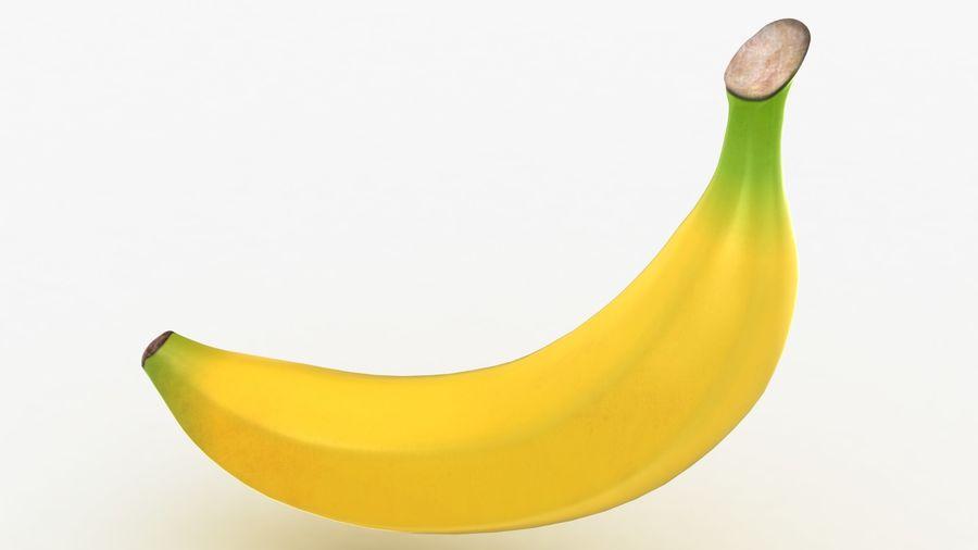 Plátano royalty-free modelo 3d - Preview no. 9