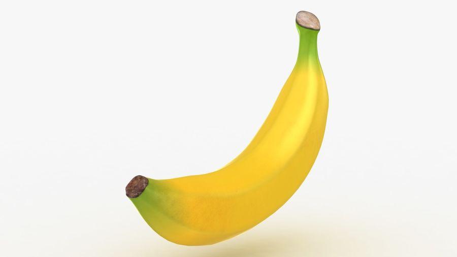 Plátano royalty-free modelo 3d - Preview no. 11