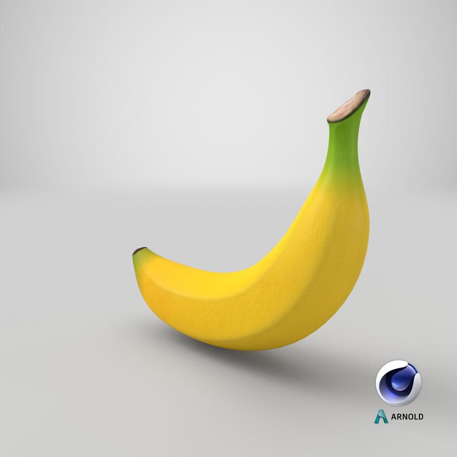 Plátano royalty-free modelo 3d - Preview no. 27