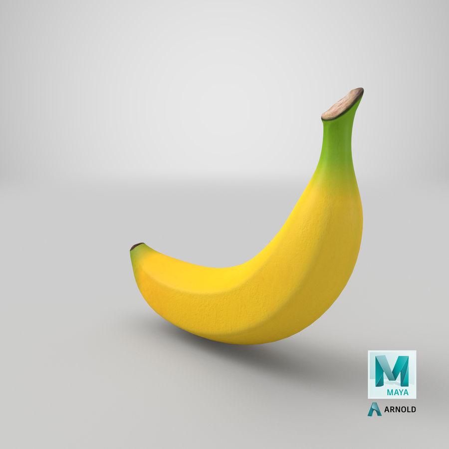 Plátano royalty-free modelo 3d - Preview no. 31