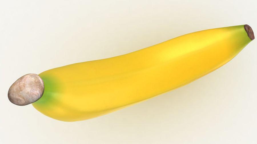 Plátano royalty-free modelo 3d - Preview no. 12