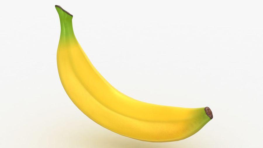 Plátano royalty-free modelo 3d - Preview no. 6