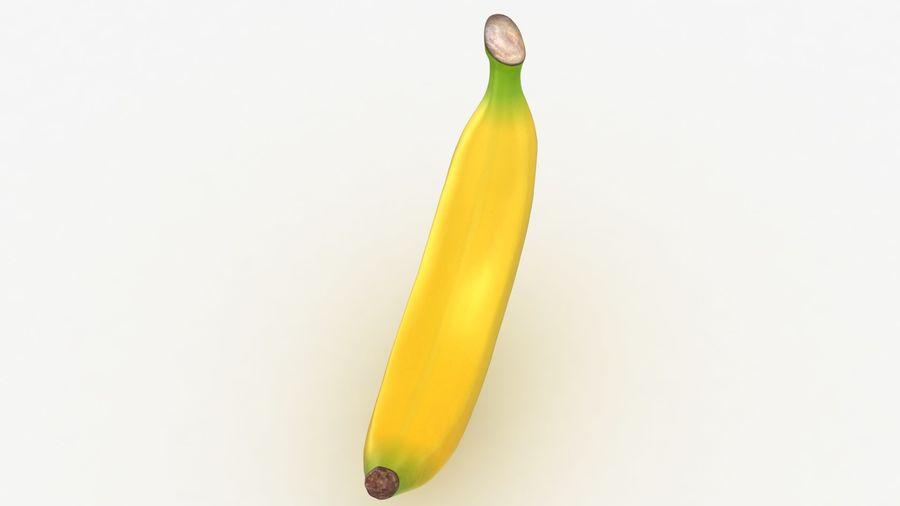 Plátano royalty-free modelo 3d - Preview no. 5