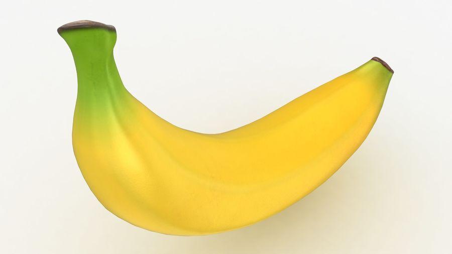 Plátano royalty-free modelo 3d - Preview no. 7