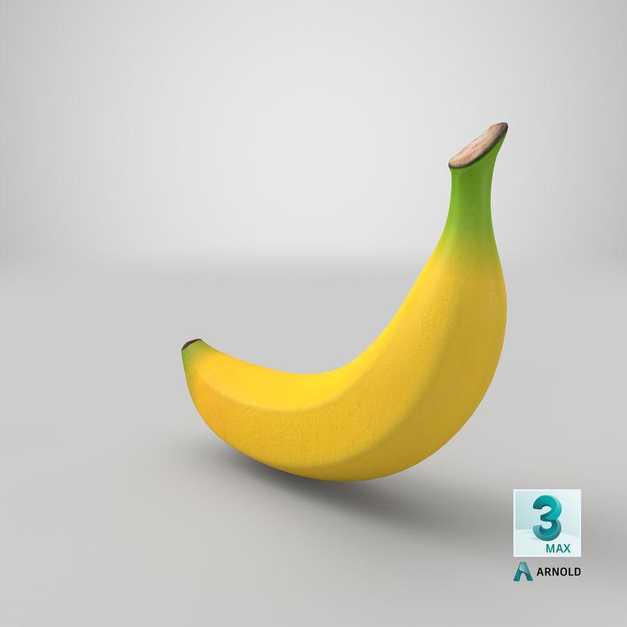 Plátano royalty-free modelo 3d - Preview no. 28