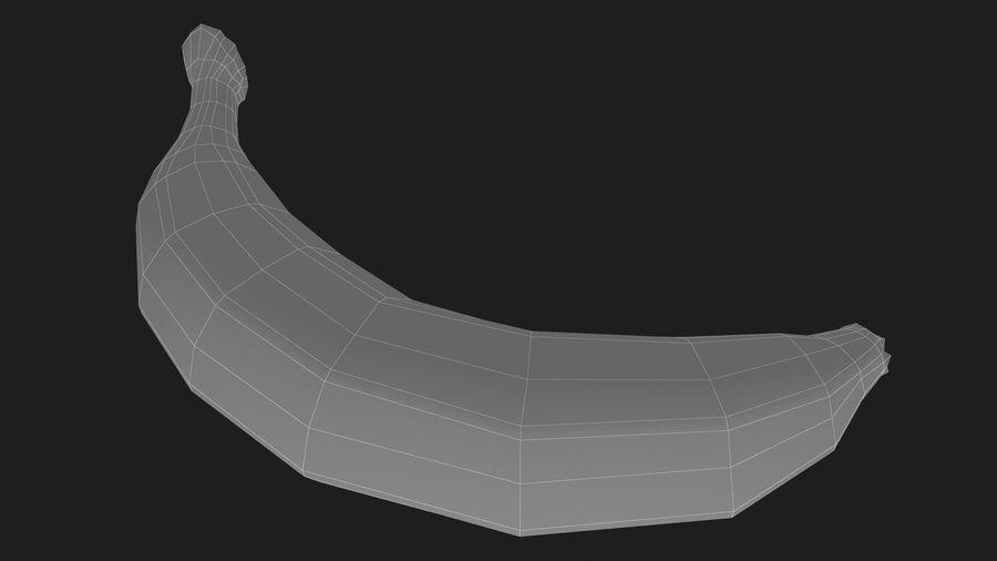 Plátano royalty-free modelo 3d - Preview no. 16