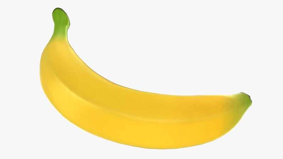 Plátano royalty-free modelo 3d - Preview no. 15