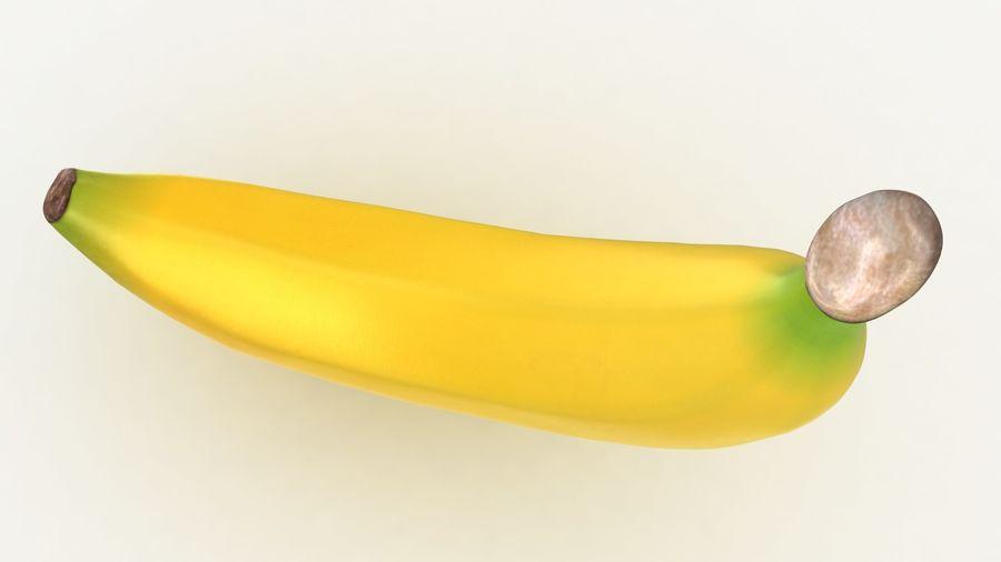 Plátano royalty-free modelo 3d - Preview no. 8