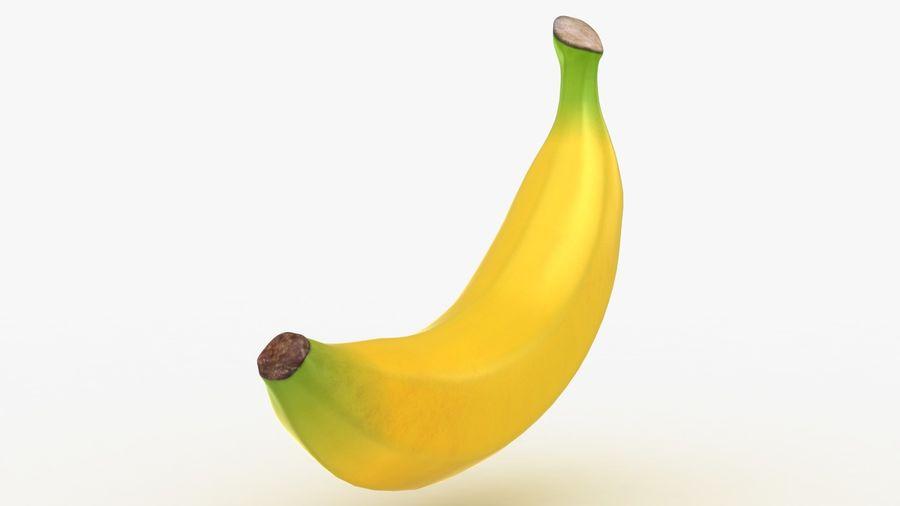 Plátano royalty-free modelo 3d - Preview no. 14