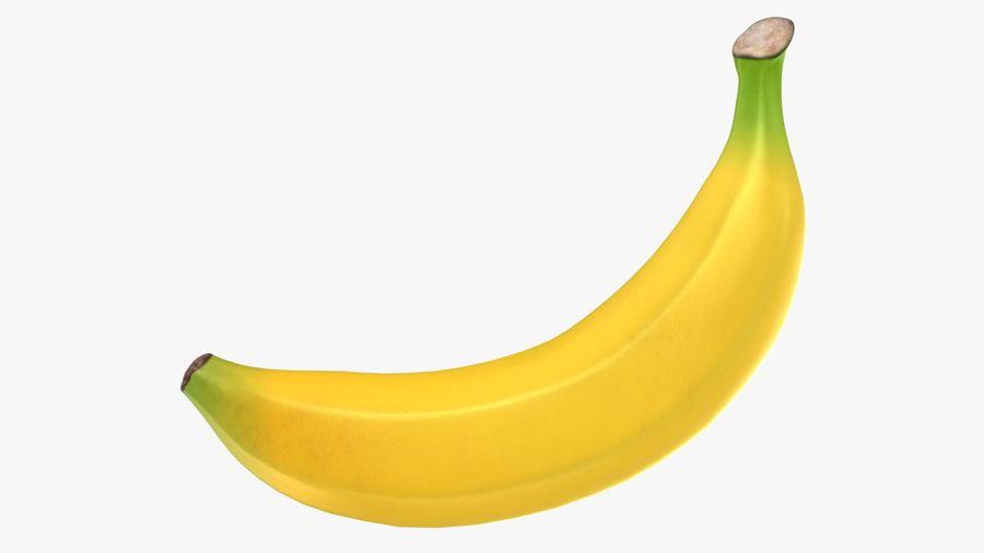 Plátano royalty-free modelo 3d - Preview no. 2