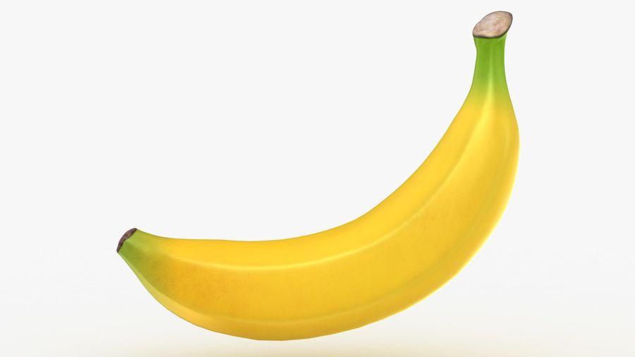 Plátano royalty-free modelo 3d - Preview no. 3