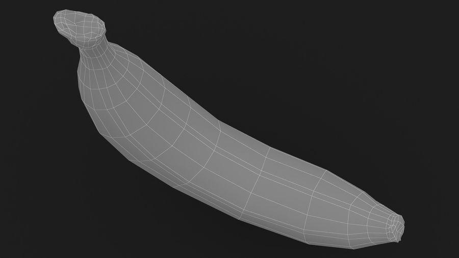 Plátano royalty-free modelo 3d - Preview no. 18