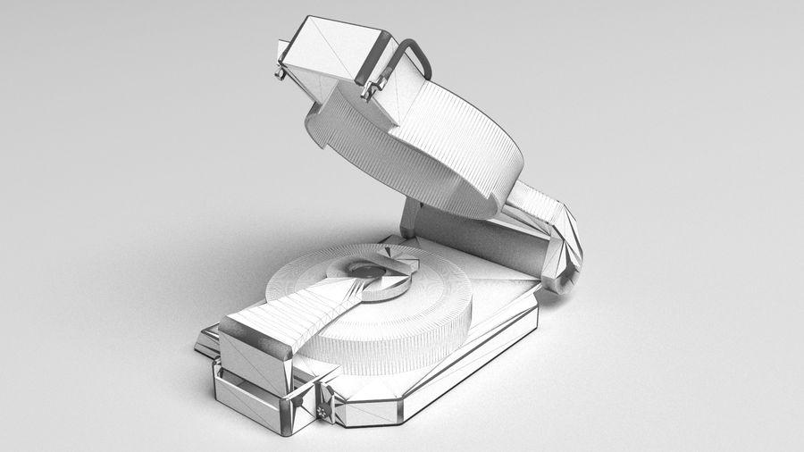 Compasso Lensatic royalty-free 3d model - Preview no. 7