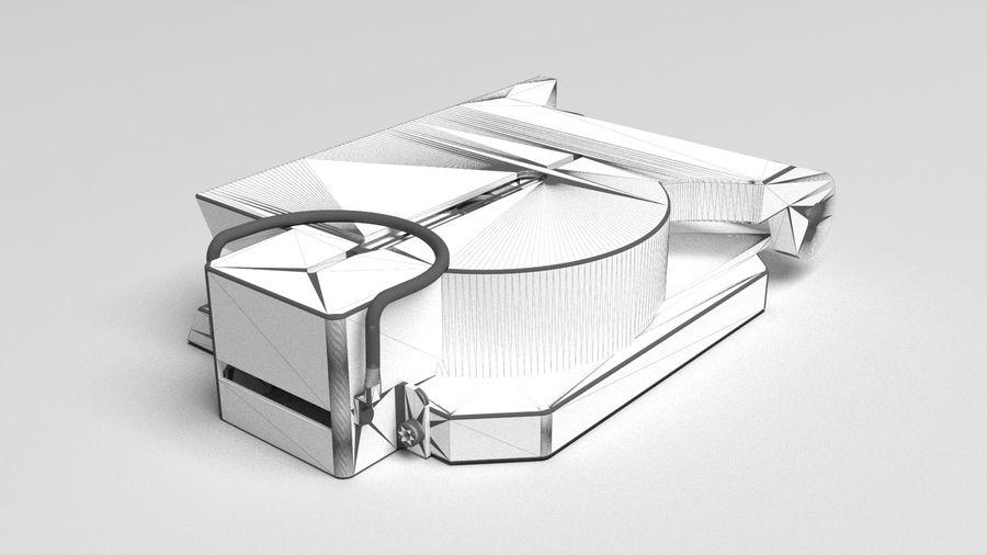 Compasso Lensatic royalty-free 3d model - Preview no. 8
