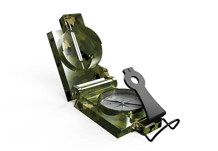 Compasso Lensatic royalty-free 3d model - Preview no. 1