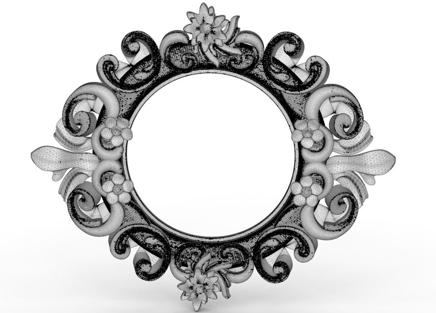 frame 40 royalty-free 3d model - Preview no. 5
