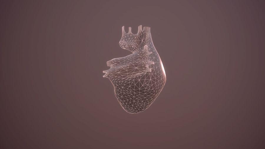 Animacja serca bicie serca narząd Model Low-poly 3D royalty-free 3d model - Preview no. 8