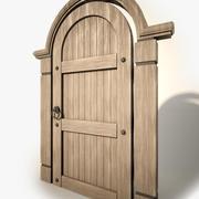 ウッドドア 3d model