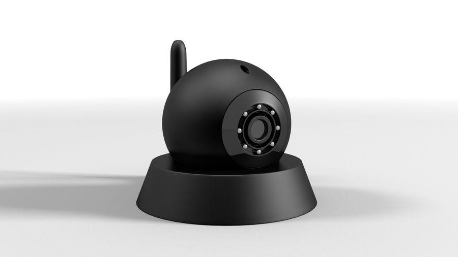 Cámara web con cámara IP CCTV royalty-free modelo 3d - Preview no. 1