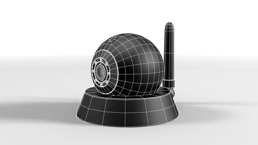Cámara web con cámara IP CCTV royalty-free modelo 3d - Preview no. 6