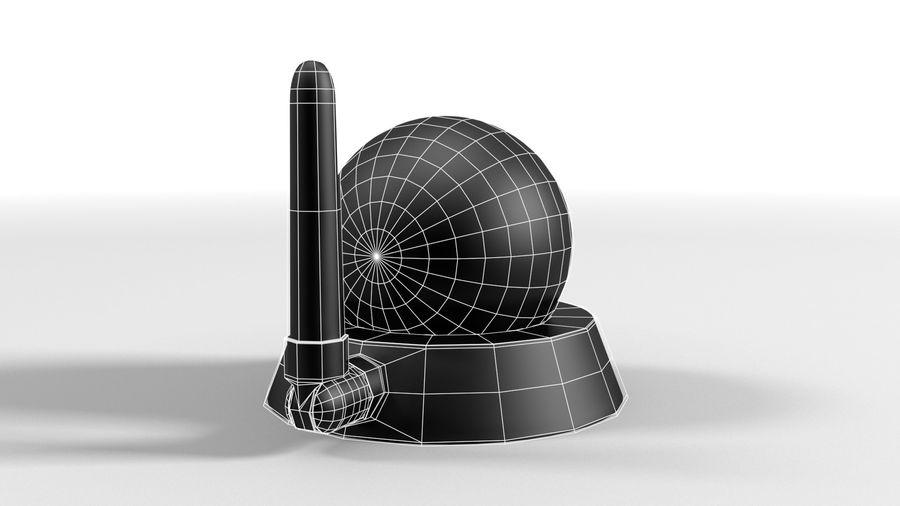 Cámara web con cámara IP CCTV royalty-free modelo 3d - Preview no. 5