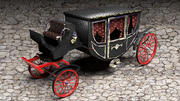 Luxury Horse Carriage 3d model