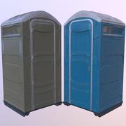 간이 변기 휴대용 화장실 3d model