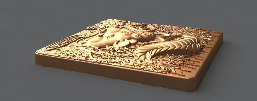 Mysz royalty-free 3d model - Preview no. 5