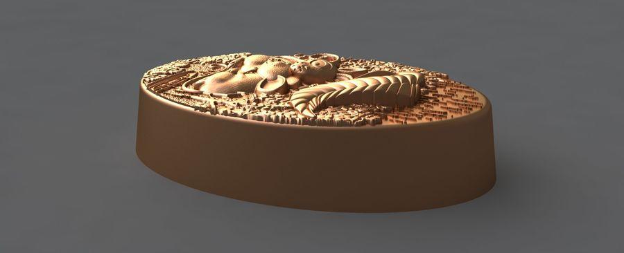쥐 royalty-free 3d model - Preview no. 5