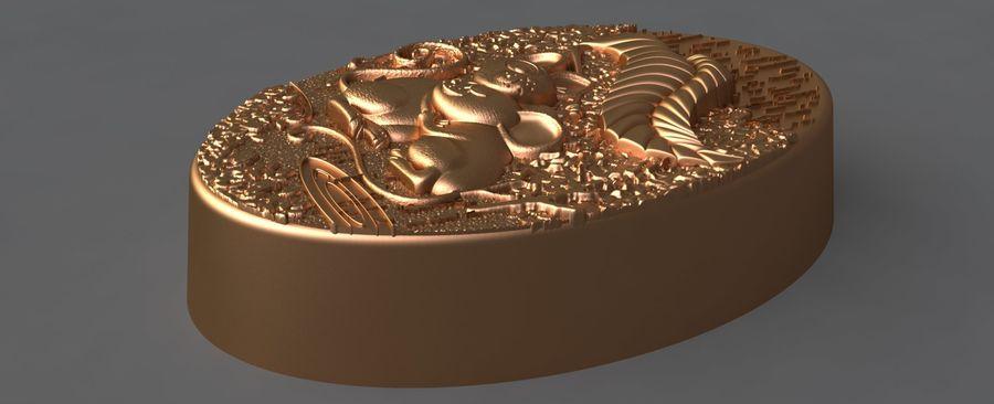 쥐 royalty-free 3d model - Preview no. 9