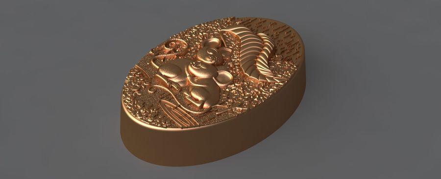 쥐 royalty-free 3d model - Preview no. 4