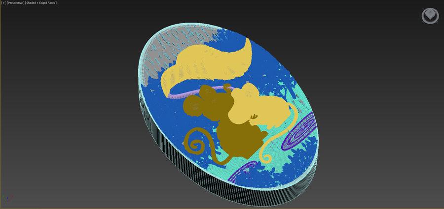 쥐 royalty-free 3d model - Preview no. 12