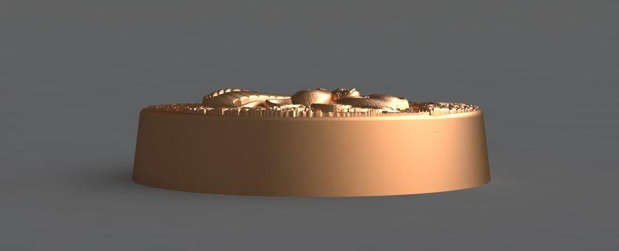 쥐 royalty-free 3d model - Preview no. 6