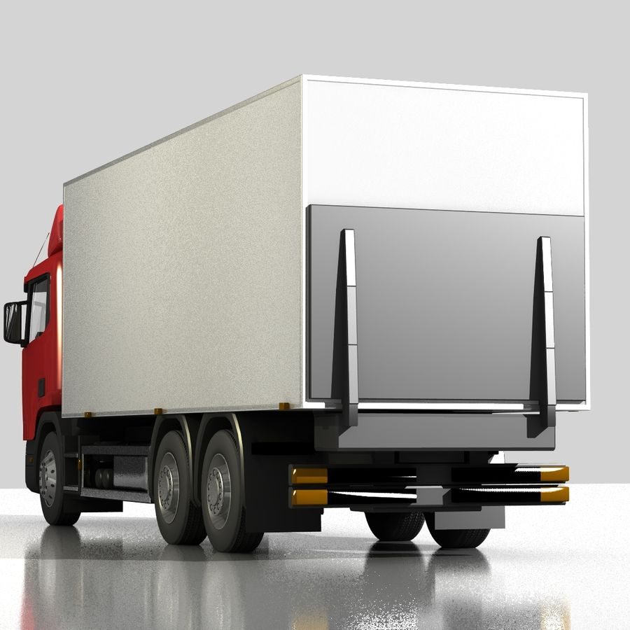 Truck royalty-free 3d model - Preview no. 5