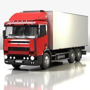 Camión modelo 3d