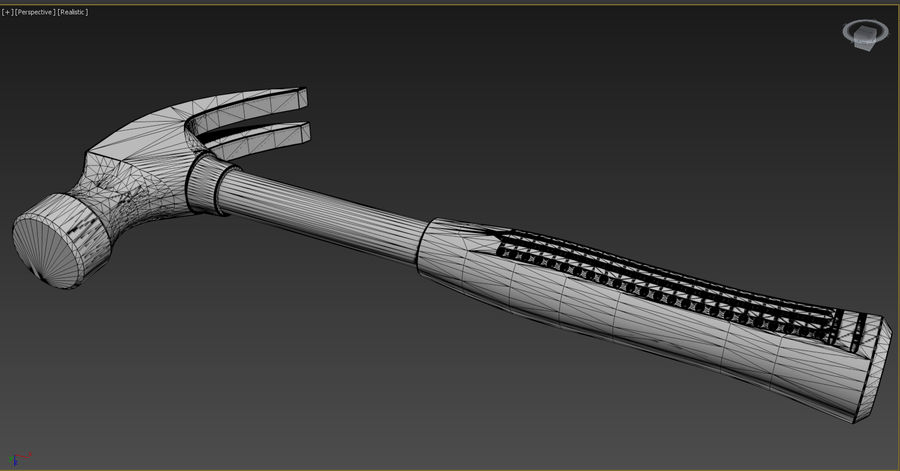 Hammer royalty-free 3d model - Preview no. 12