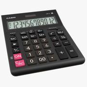 Casio GR-12 Calculator 3d model
