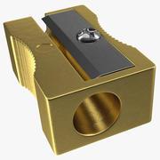 Złota temperówka 3d model