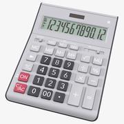 Gray Calculator Generic 3d model