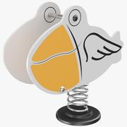 Printemps de canard à bascule 3d model