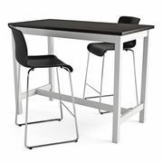 Bar Masa ve Sandalye Utby Glenn 3d model