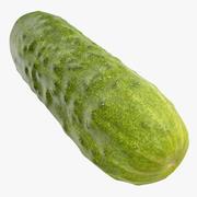 Cucumber 05 Hi Poly 3d model