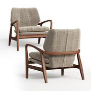 Arnon fauteuil natuurlijk 3d model