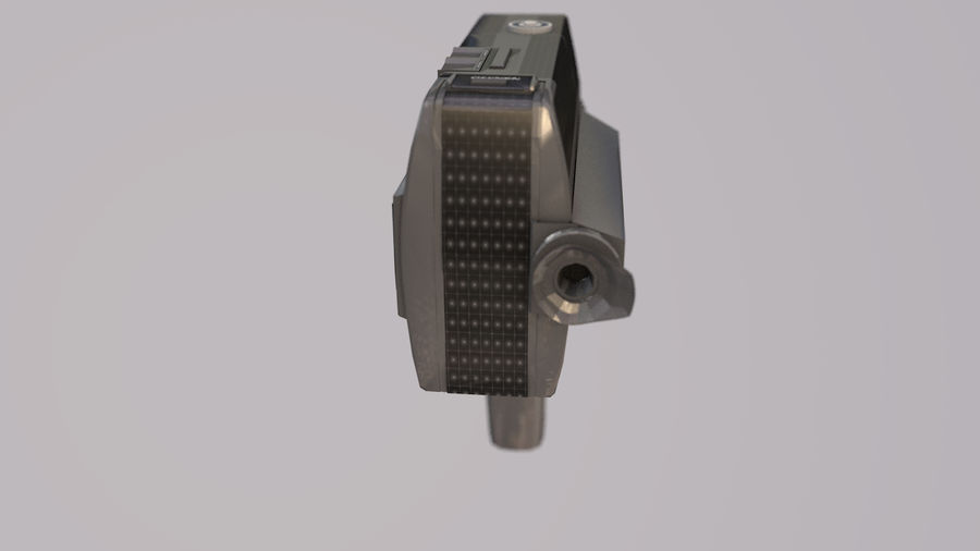 Super 8 Movie Camera royalty-free 3d model - Preview no. 8