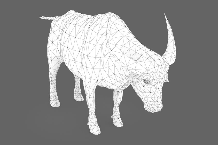 Buffalo typ 01 royalty-free 3d model - Preview no. 9