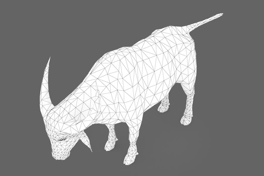 Buffalo typ 01 royalty-free 3d model - Preview no. 10