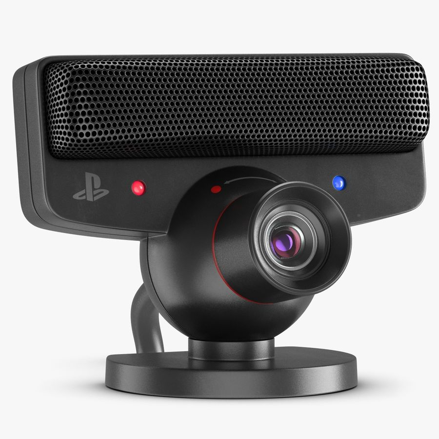 Sony PlayStation 3 Camera Eye royalty-free 3d model - Preview no. 1