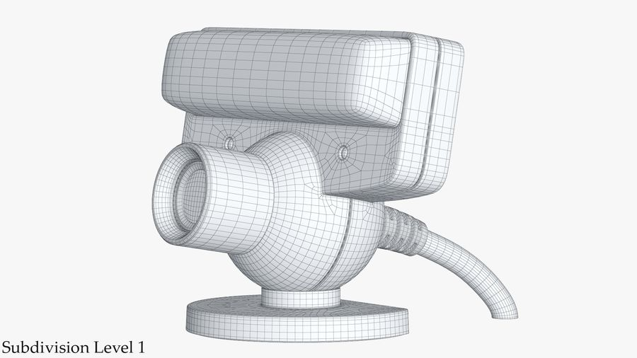 Sony PlayStation 3 Camera Eye royalty-free 3d model - Preview no. 16