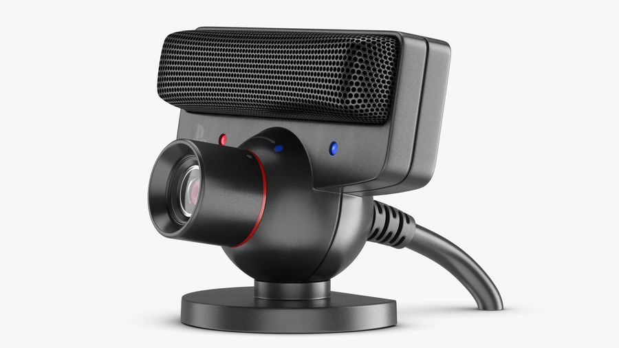 Sony PlayStation 3 Camera Eye royalty-free 3d model - Preview no. 5