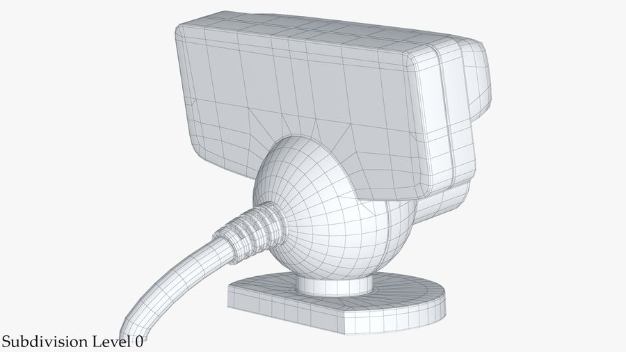 Sony PlayStation 3 Camera Eye royalty-free 3d model - Preview no. 17